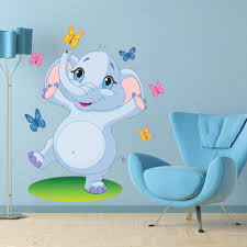 Dancing Elephant Wall Decal For Kids Style And Apply