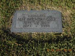 Ada Beck Wagner (1878-1933) - Find A Grave Memorial