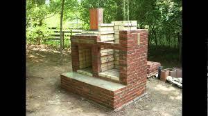 brick smokehouse construction you