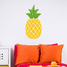 Pineapple Vinyl Wall Decal Dee Cal Frenzy Wall Decor