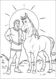Paard En Shrek Kleurplaat Gratis Kleurplaten Printen