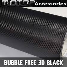 36 X 60 Car Black Carbon Fiber Vinyl Decal Film Sticker Air Release Ushirika Coop
