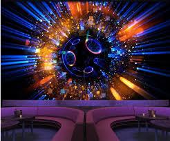 light bar ktv background wall 3d murals