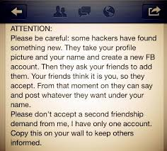 how can you spot a fake facebook friend request