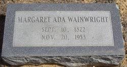 Margaret Ada Davidson Wainwright (1872-1953) - Find A Grave Memorial