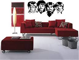 Amazon Com Tuande Vinyl Wall Decal Quote Stickers Home Decoration Wall Art Mural Music Themed Wall Decal The Beatles Wall Decal For Living Room Bedroom Music Room Home Kitchen