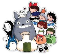 My Neighbor Totoro Studio Ghibli Anime Car Window Decal Sticker 011 Anime Stickery Online