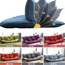 Double Lazy Sofa Bed Floor Tatami Bedroom Folding Couch Furniture Pouf Gaming Cushion Lounge Chair Kids Party Gaming Cushion Mat Living Room Sofas Aliexpress