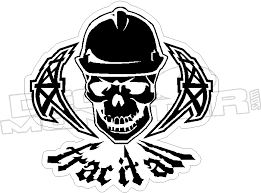 Frac It All Decal Decalmonster Com