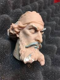 Original Captain Nemo sculpture art by Sandy Collora-- Super Sculpey |  #1840533298