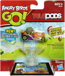Angry Birds GO Telepods Kart Series 1 Green Pig Figure Pack Helmet ...