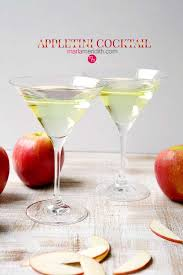 sweet and refreshing appletini l