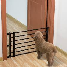 Best Promo 9a372 Household Pet Railing Isolation Door Anti Blocking Cat Dog Fence Indoor Cage Large And Medium Sized S Cicig Co