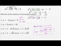 solving quadratic equations harder