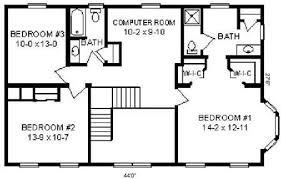 floor plan detail hallmark modular homes