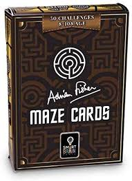 Amazon.com: Adrian Fisher Maze Cards: Toys & Games