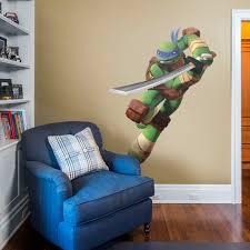 Personalized Leonardo Ninja Turtles Decal Removable Wall Sticker Free Shipping