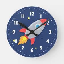 Nursery Kids Clocks Zazzle
