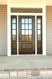 steel front doors with sidelights