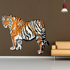 Style And Apply Tiger Wall Decal Wayfair