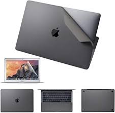 Amazon Com Vfeng Premium 5 In 1 Full Body Skin Decals And Screen Protector For Macbook Pro 15 Inch With Touch Bar A1707 A1990 2016 2017 2018 2019 3m Full Cover Protector Vinyl Skins Gray Electronics