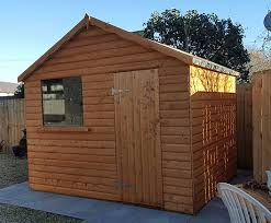 garden sheds scotland apex roof wooden