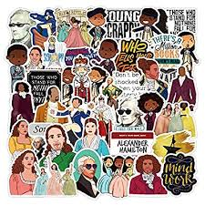 Amazon Com Hamilton Musical Stickers