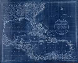 Amazon.com: 18 x 24 Blueprint Style Reproduced Old Map 1783The West Indies,  Including Part Virginia, North Carolina, East Florida, South Carolina, West  Florida, Georgia, Louisiana The Gulf Mexico, : Photographs