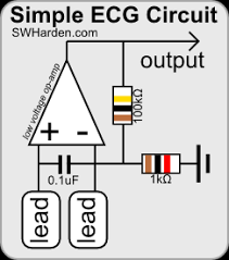 homemade sound card ecg circuit