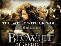 The Battle Between Beowulf And Grendel ! by Dai'Jah