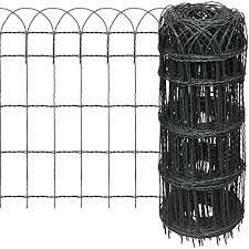 Hoop Fencing Mesh Wire Fence Premium Pvc Coated Netting 400mm X10mts Decorative Garden Fencing Amazon Co Uk Garden Outdoors