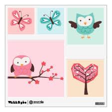 Kawaii Wall Decals Stickers Zazzle