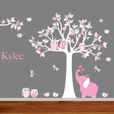 Tree Wall Decal For Childrens Room Levtex Owl Realistic Living Art Canada Walmart Family Vamosrayos