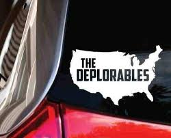 The Deplorables Usa Window Decal Merica Anti Hillary Trump 2020 Hq Bumper Sticker Sticker Vinyl Decals Window Window Decal Stickers Aliexpress