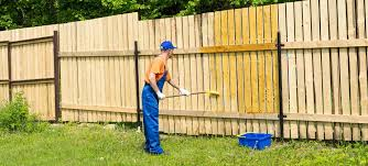 Fence Stain Sprayer Faster Cleaner Best Contractor Staining Equipment