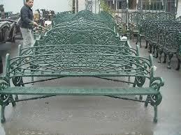 cast iron heavy art nouveau garden