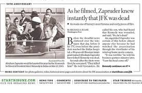 Abraham Zapruder and His Famous Film | Pat's Picks
