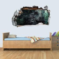 Gng Dinosaur Jurassic World T Rex 3d Kids Wall Art Decal Vinyl Sticker