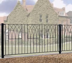Burbage Abbey Modern 6 X 3 Ft Fence Panel Gardensite Co Uk
