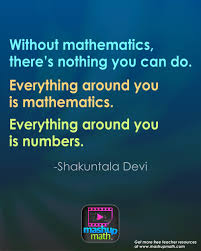 groovy math quotes to post in your classroom mashup math