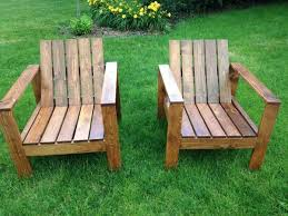 wood outdoor lounge chair stained slats