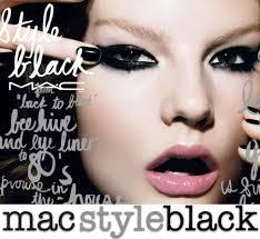 mac style black everyday edgy makeup