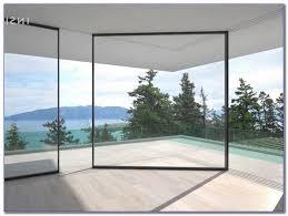 large glass window panels home
