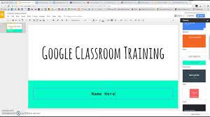 Google Classroom Assignment ...