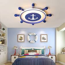 Pirate Dream Modern Led Ceiling Lights For Children Room Boy Kids Room Bedroom Blue Color Ceiling Lamp Fixtures Free Shipping Ceiling Lights Aliexpress