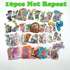 Collectibles 100pcs Random Hot Rods Graffiti Vinyl Decal Ed Roth Big Daddy Rat Fink Stickers Rat Fink