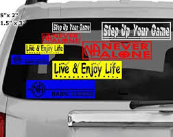Anonymous Car Decal Etsy