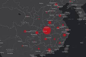 Coronavirus, la mappa del contagio fatta dalla Johns Hopkins ...