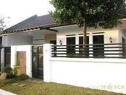 Sliding Gate Bungalow House Design Zen House Design Small House Design Philippines