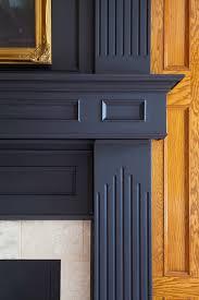 emphasizing a corner fireplace on a